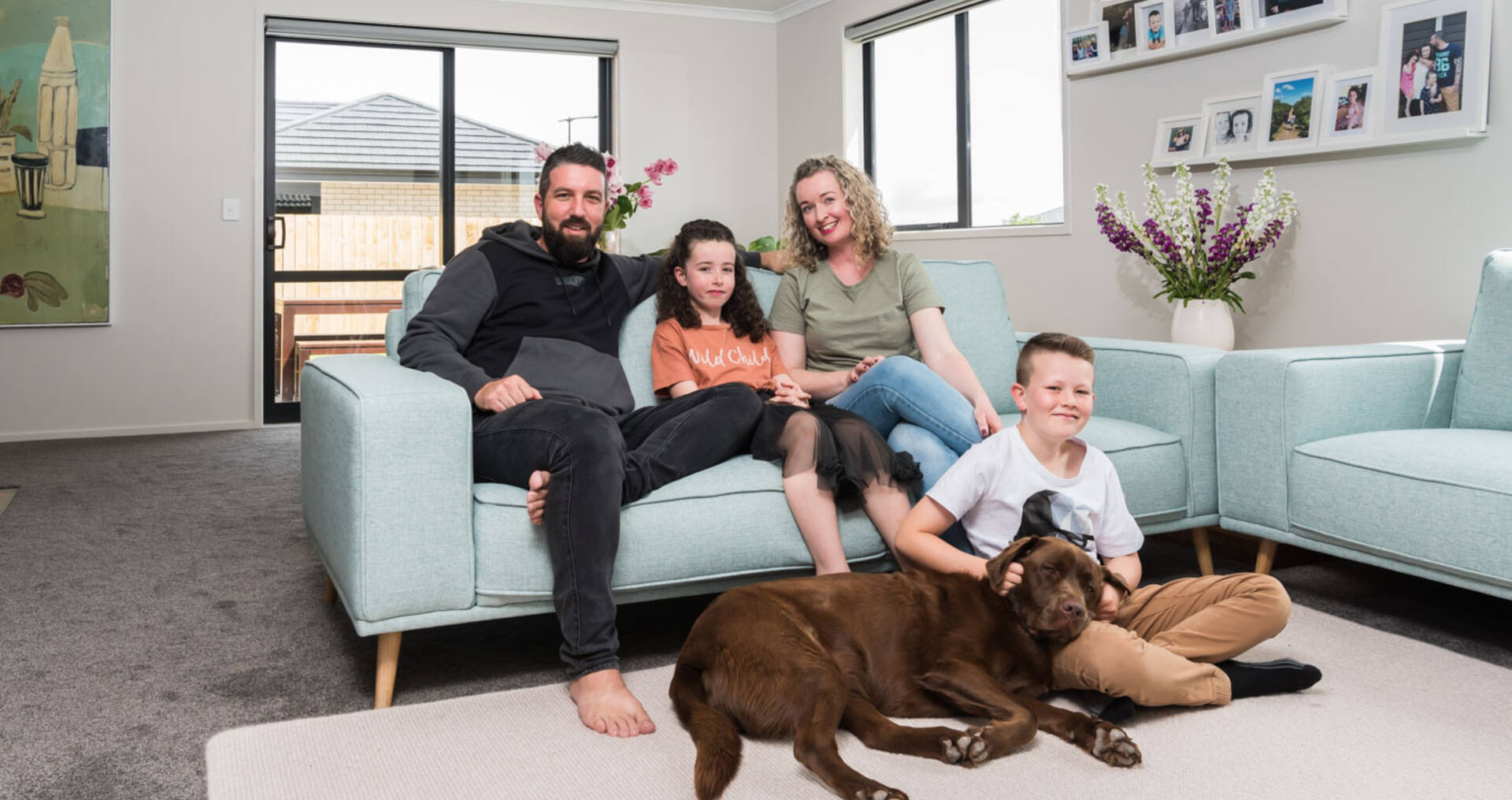 How this family took their first step in the property market